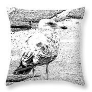 Jeffrey Cleverly Disguised As A Road Throw Pillow