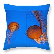 Jellies Throw Pillow