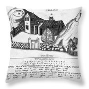Jelling Monuments, C960 Throw Pillow