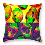 Jelly Bean Jewels 1 Throw Pillow