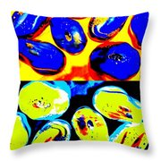 Jelly Bean Jewels 4 Throw Pillow