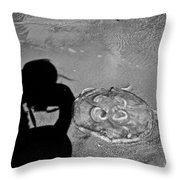 Jelly Capture Throw Pillow