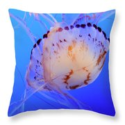 Jellyfish 5 Throw Pillow
