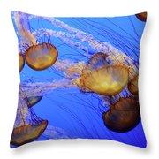 Jellyfish 6 Throw Pillow