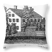 Jemima Wilkinson Throw Pillow