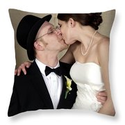 Jen And Matt 07 Throw Pillow