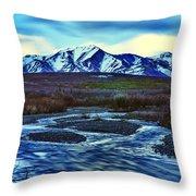 Jenny Creek Dawn Throw Pillow
