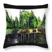 Jersey Pines Throw Pillow