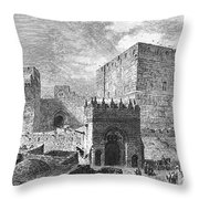 Jerusalem: Citadel Throw Pillow