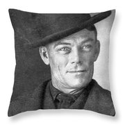 Jesse Linsley (b.1868) Throw Pillow