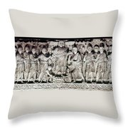 Jesus & Apostles Throw Pillow