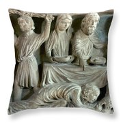 Jesus And Mary Magdalene Throw Pillow