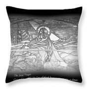 Jesus Prayer Throw Pillow