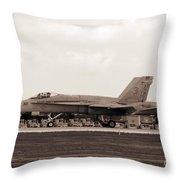 Jet Day At Oshkosh Airventure 2012. #01 Throw Pillow