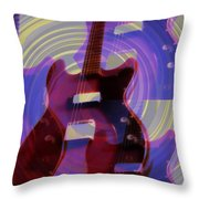 Jet Screamer - Guild Jet Star Throw Pillow