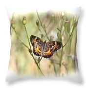 Jewel In The Marsh Throw Pillow