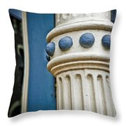 Jeweled Architecture 2 Throw Pillow