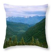 Jewell Basin- Mt Throw Pillow