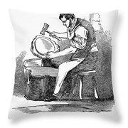 Jewelry: Planishing Throw Pillow