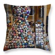 Jewelry Shoppe Throw Pillow