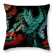 Jewels Of The Night Throw Pillow