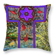Jewish Messiah Throw Pillow
