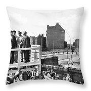 Jfk In Berlin, 1963 Throw Pillow