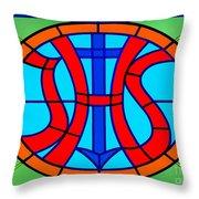 Jhs Christogram Throw Pillow