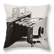 Jiffy Kodak Vp Camera Throw Pillow