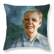 Jim Throw Pillow