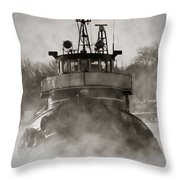 Jimmy L Bow Throw Pillow