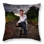 JL7 Throw Pillow