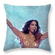 JLo Throw Pillow