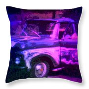 Joe And The Pontiac Truck Throw Pillow