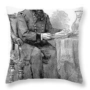 John A. Rawlins Throw Pillow