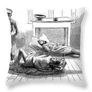 John Browns Raid, 1859 Throw Pillow