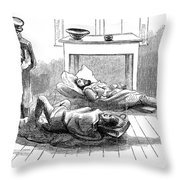 John Browns Raid, 1859 Throw Pillow by Granger
