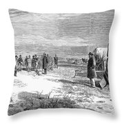 John Doyle Lee (1812-1877) Throw Pillow