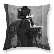 John Ellis Wool (1784-1869) Throw Pillow