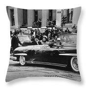 John F. Kennedy (1917-1963) Throw Pillow