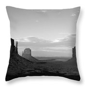 John Ford's Monument - Greeting Card Throw Pillow