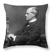 John Galsworthy Throw Pillow