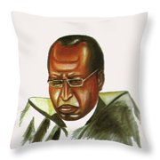 John Gatu Throw Pillow