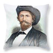 John H. Morgan (1825-1864) Throw Pillow