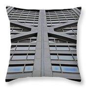 John Hancock's X Throw Pillow
