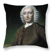John Harrison (1693-1776) Throw Pillow