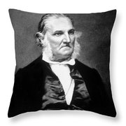 John James Audubon, French-american Throw Pillow by Science Source