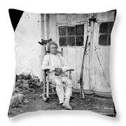 John L. Burns (1793-1872) Throw Pillow