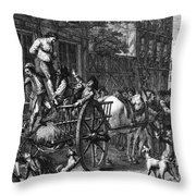 John Malcom (d. 1788) Throw Pillow