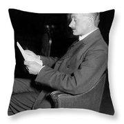 John Masefield (1878-1967) Throw Pillow